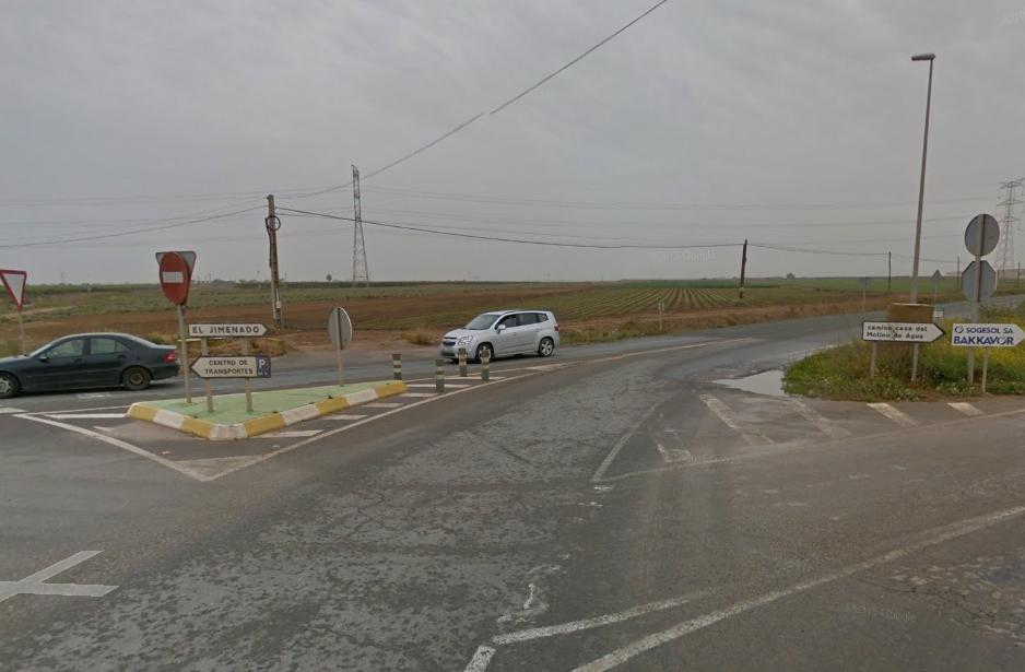 Signpost to El Jimenado