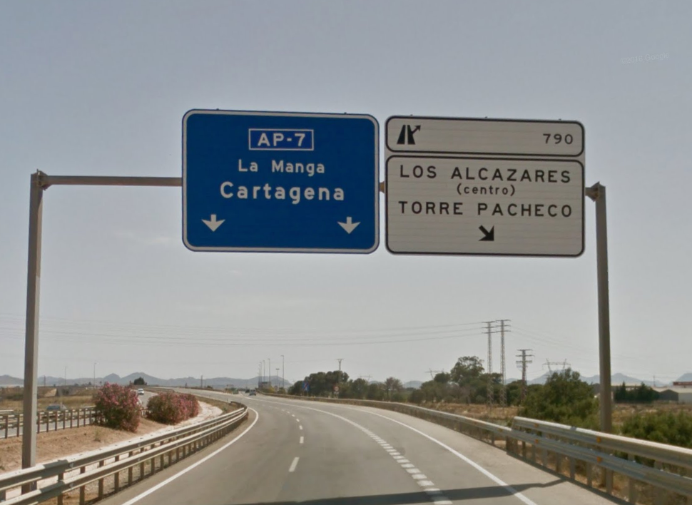 Getting to Condado de Alhama from San Javier Airport