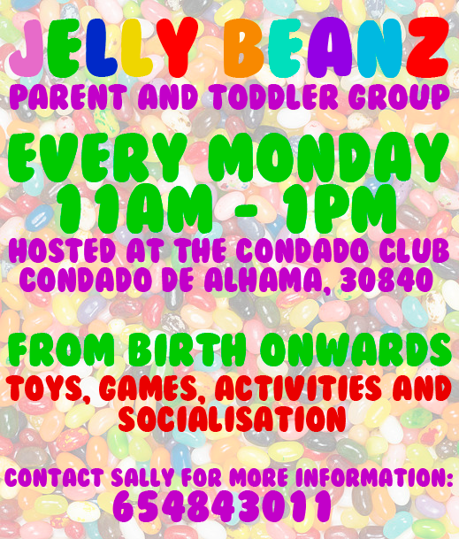 Jelly Beanz Parent & Toddler Group at The Condado Club