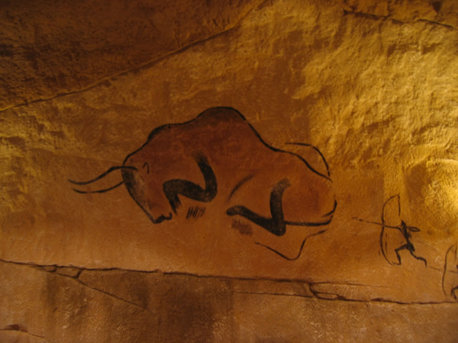 Cave Painting at Restaurante La Caverna