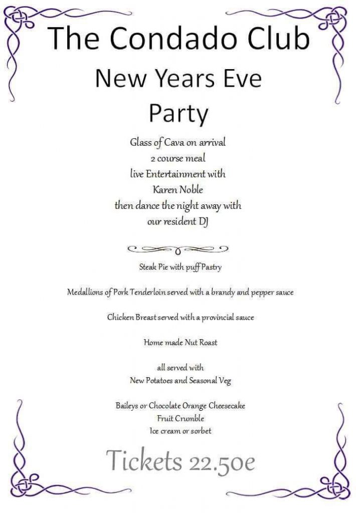 New Years Eve Party at The Condado Club