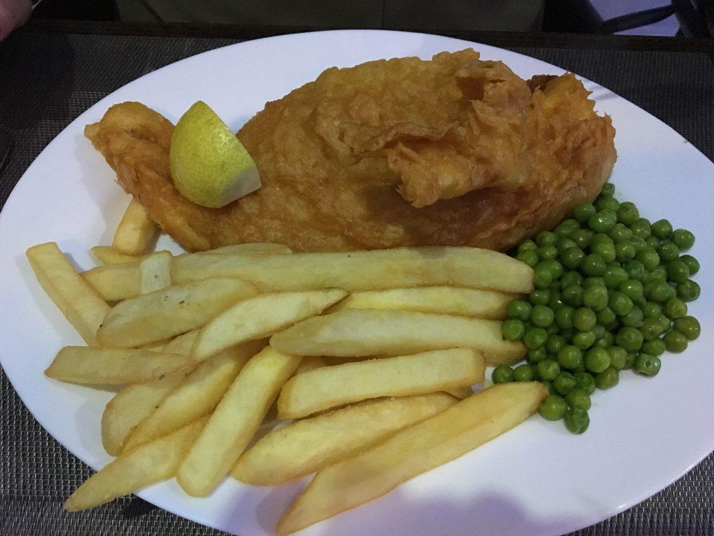 Fish & Chips Friday at The Condado - 22 Euros