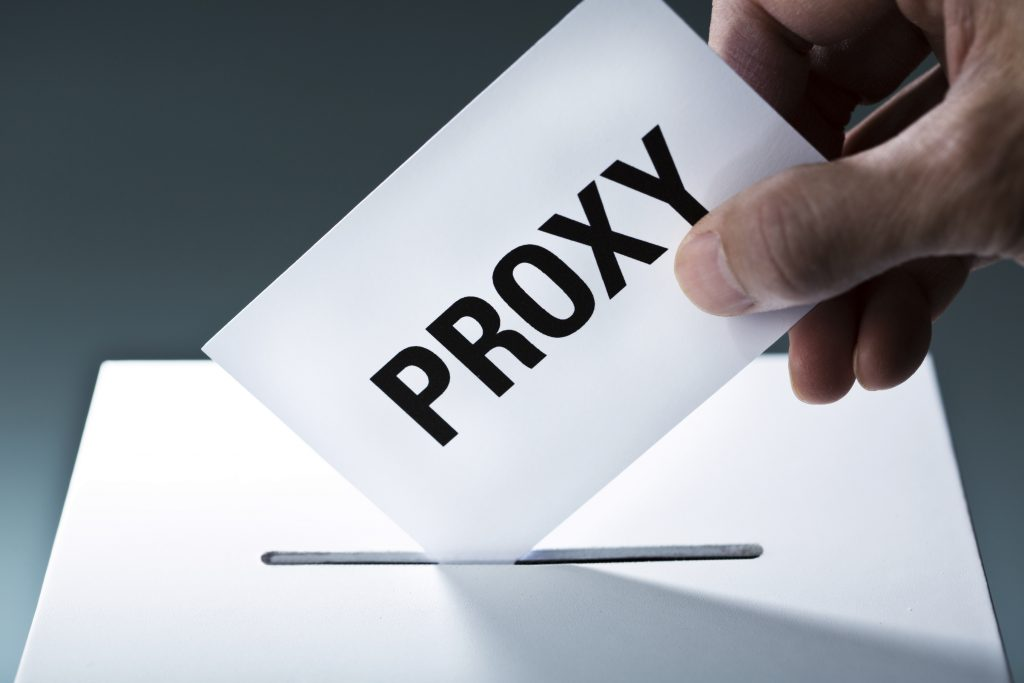 Don't Lose Your Right to Vote! Use a Proxy