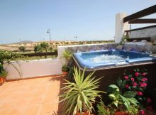 Hot Tub on the Roof Terrace