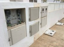 Poor Condition of Utility Cabinets