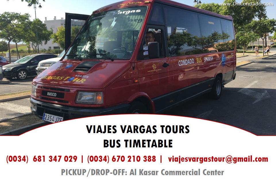 Vargas Tours Bus Condado de Alhama