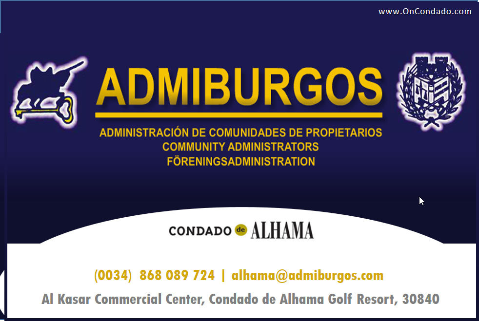 Admiburgos at Condado de Alhama Golf Resort