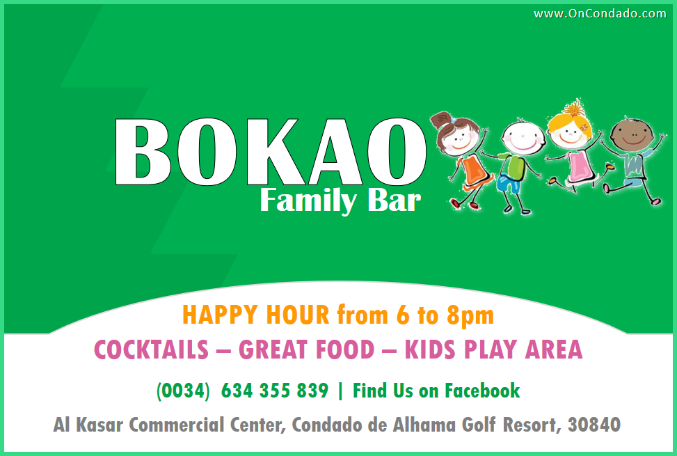 Bokao Family Bar at Condado de Alhama