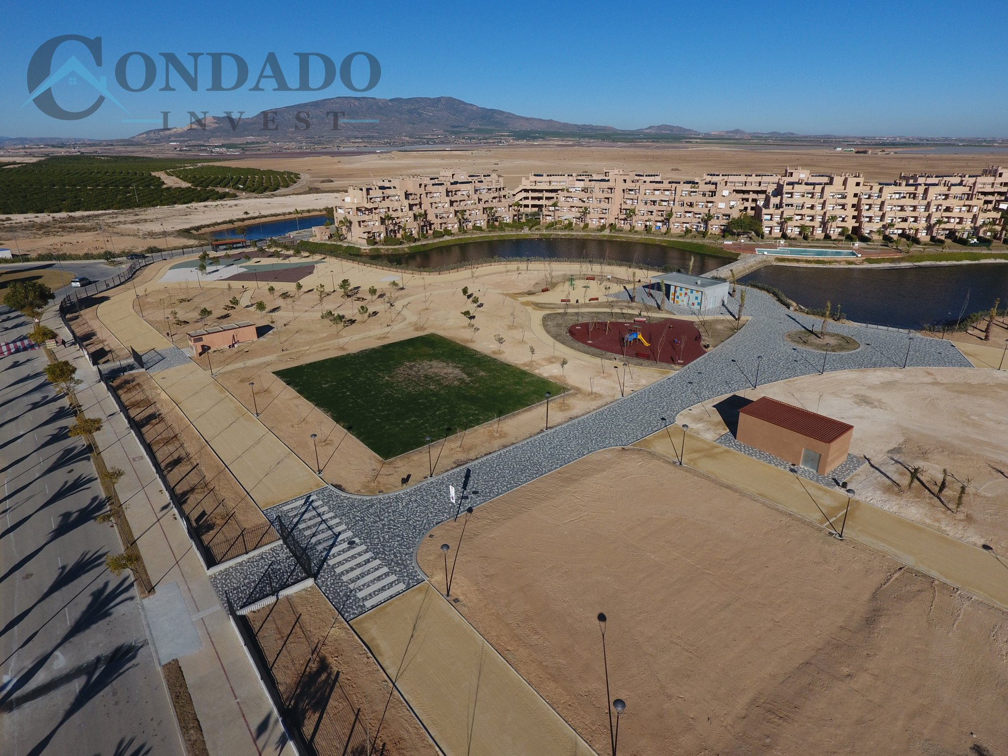 New recreational part at Condado de Alhama