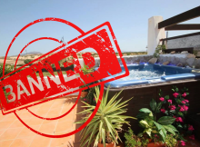 Hot Tubs & Spas are Prohibited on Condado de ALhama