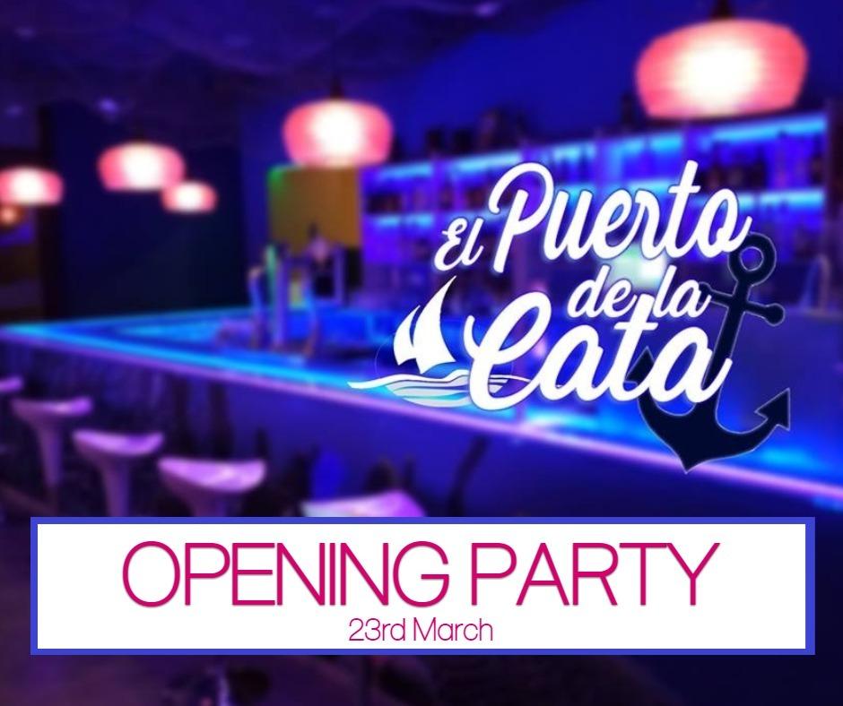 El Puerto de la Cata Opening Party is on 23rd March