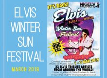 Elvis Winter Sun Festival 2019 at Condado de Alhama