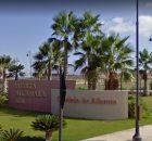 Alcanara Entrance at Condado de Alhama will be closed