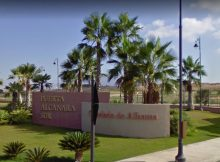 Alcanara Entrance at Condado de Alhama will be closed