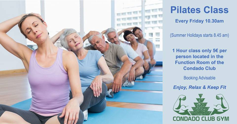 Pilates Class at Condado de Alhama Golf Resort