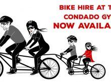 Bike Hire at The Condado Club Gym