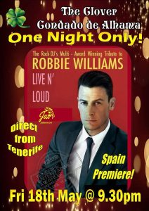 Robbie Williams Tribute - Live n' Loud