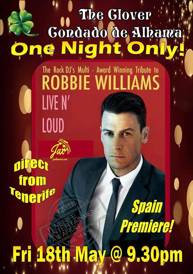 Robbie Williams Tribute - Live n' Loud