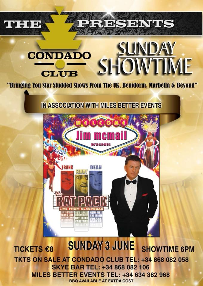 Jim McMail's Ratpack at The Condado Club