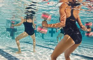 Aqua Aerobic Clases at Condado de Alhama Golf Resort