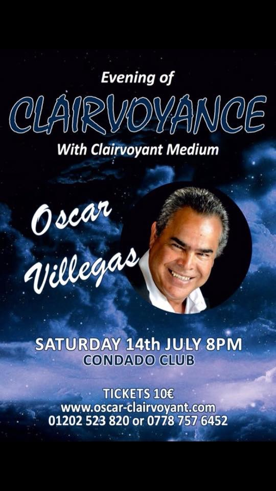 Evening of Clairvoyance at Condado de Alhama Golf Resort