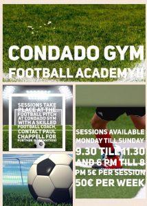 Condado Gym Football Academy