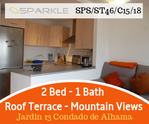2 Bed 2 Bath Apartment Roof Terrace Mountain Views