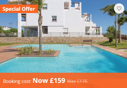 Condado de Alhama Holiday Rental Special Offer