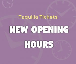 Opening Hours at Taquilla Tickets Condado de Alhama