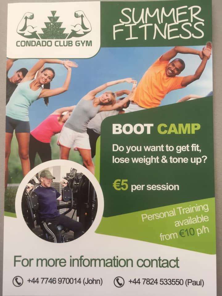 Summer Fitness Boot Camp at the Condado Club Gym