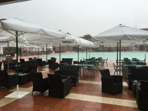 Heavy Rains at Condado de Alhama