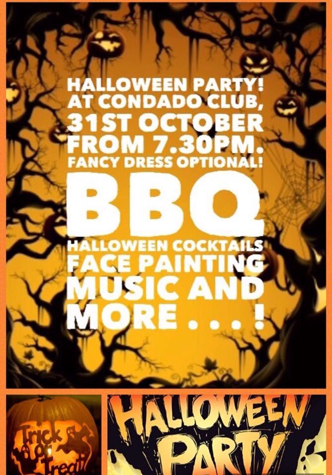 Halloween party at The Condado Club