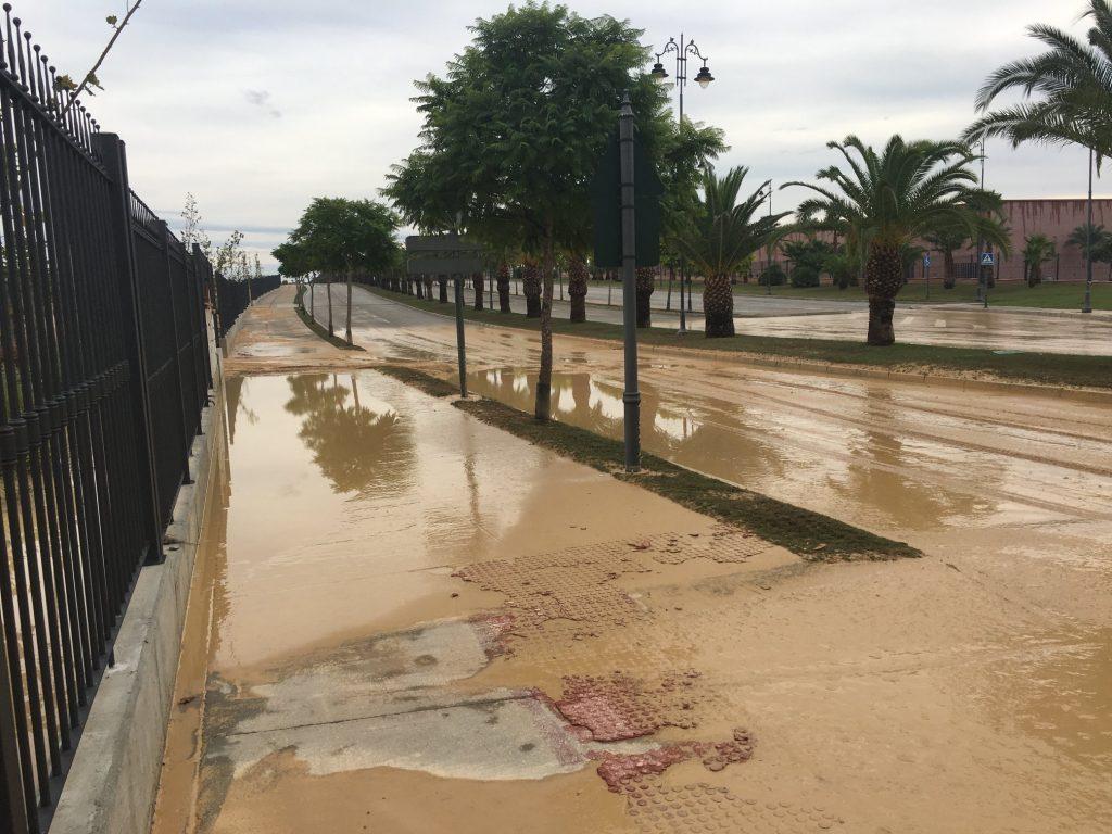 Flooding At Condado de Alhama Municiple Park