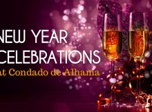 New Year Celebrations at Condado de Alhama