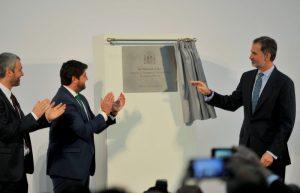 King Felipe of Spain Opens Murcia International Airport
