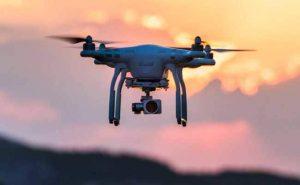 Security Drone at Condado de Alhama