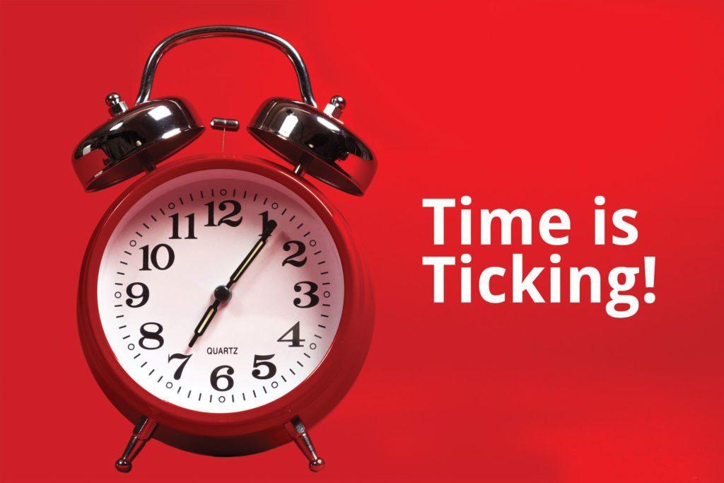 Debtors – Time is Ticking!
