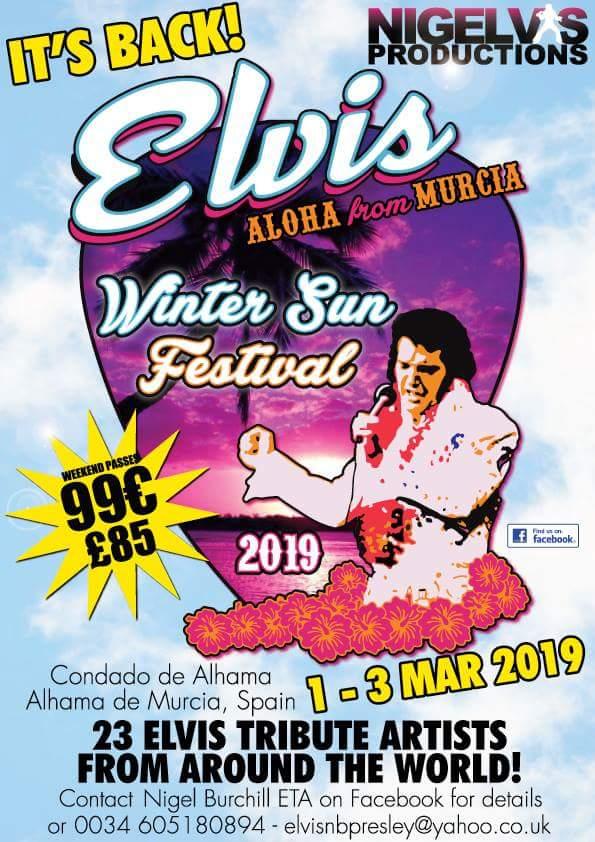 Elvis Winter Sun Festival 2019