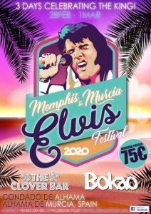 Memphis to Murcia Elvis Festival 2020 at Condado de Alhama