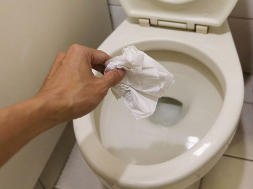 how top prevent toilet blockages