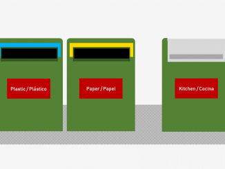 Recycling containers and waste disposal