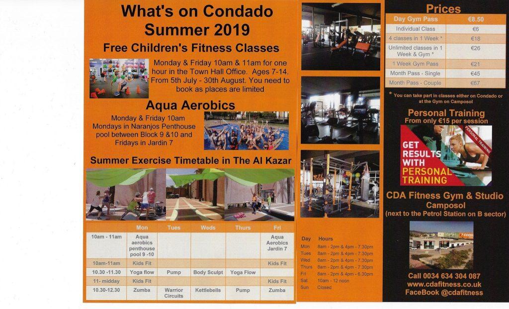 Summer Fitness Program with CDA Fitness