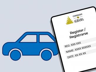 Condado de Alhama car registration form