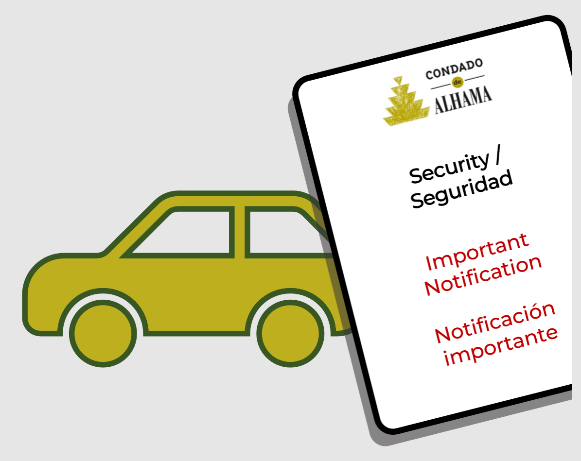 Re-register your vehicle in November to use the automatic access gates