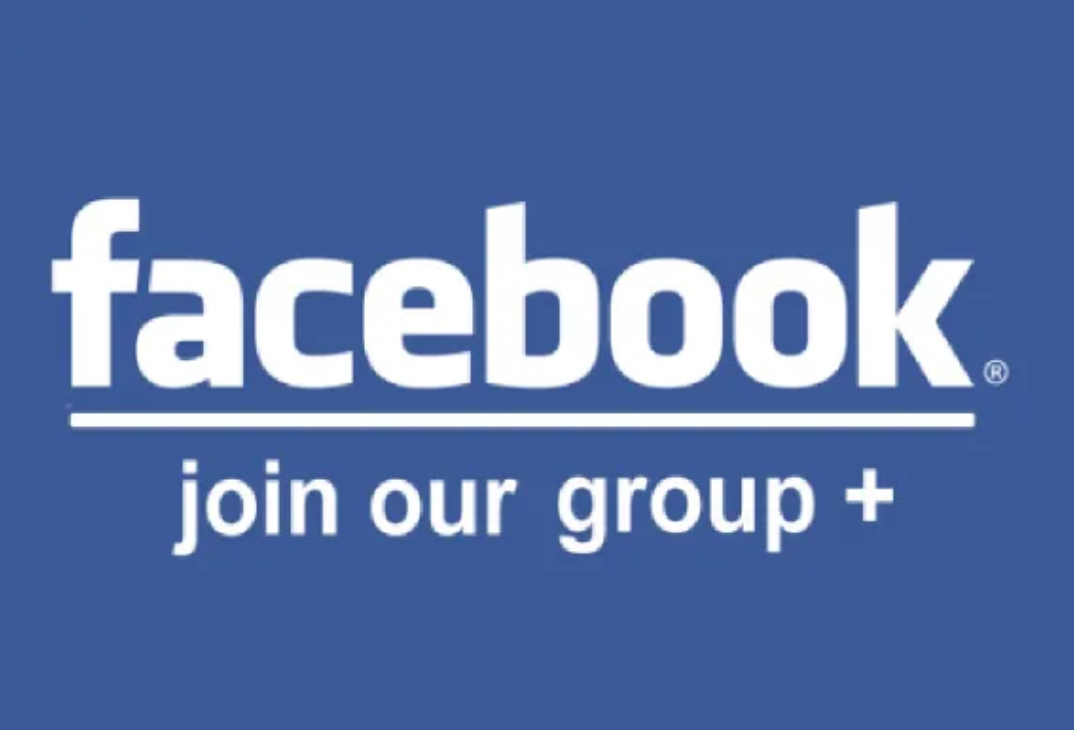 Join our community on Facebook