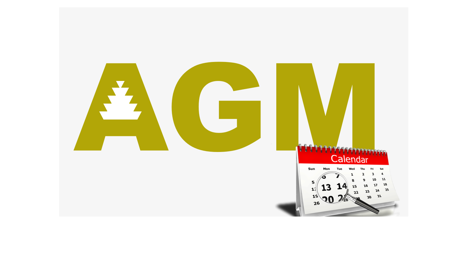 Plans are being made for the 2021 AGM to take place on new dates in May