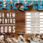 Sky Bar & Bistro New Opening Hours from w/c 14th December