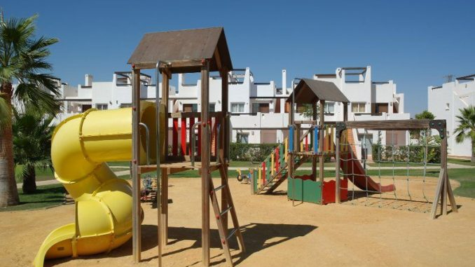 Picture of a children's play area